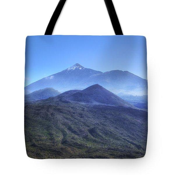 Tenerife - Mount Teide Tote Bag by Joana Kruse