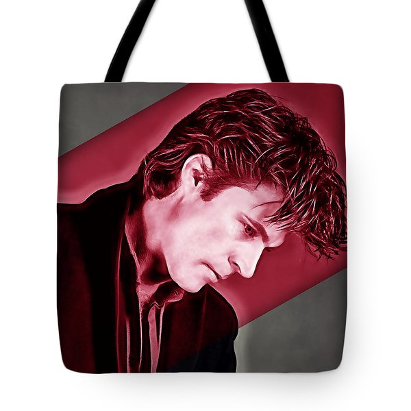 Ricky Nelson Collection Tote Bag by Marvin Blaine