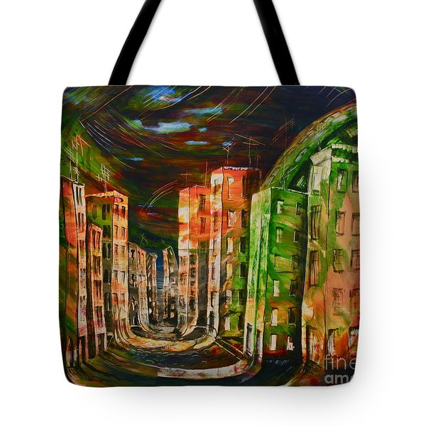 9.november 1989 Tote Bag by Carola Eleonore Thiele
