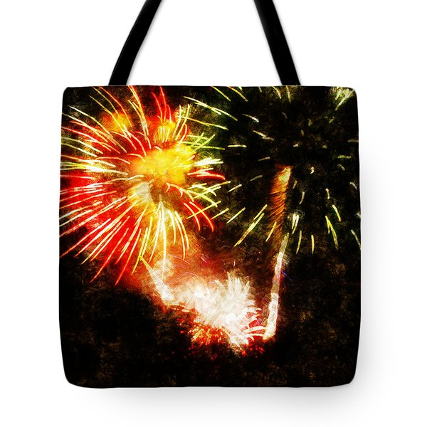 A 4th Celebration  Tote Bag by Adam Vance