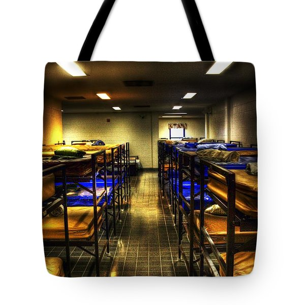 A Bed For The Night Tote Bag by Dan Stone