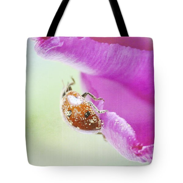 A breath of spring Tote Bag by Angela Doelling AD DESIGN Photo and PhotoArt