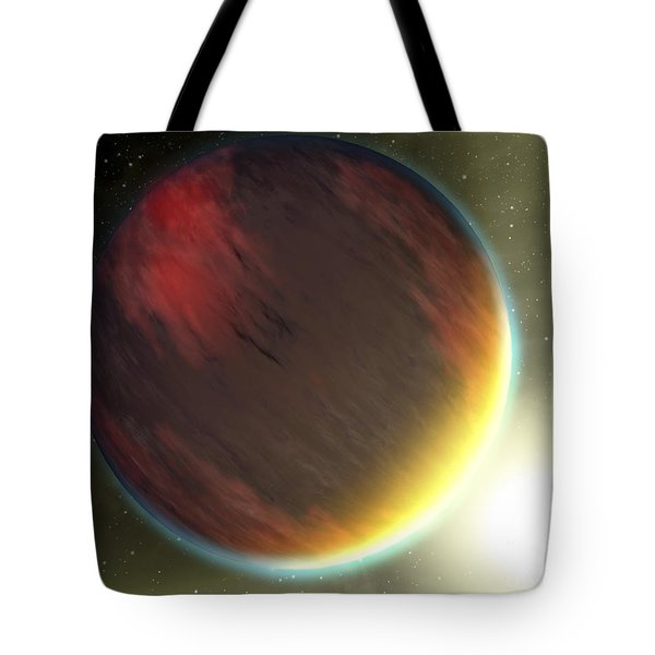 A Cloudy Jupiter-like Planet That Tote Bag by Stocktrek Images