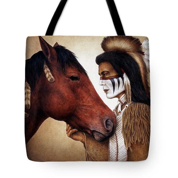 A Conversation Tote Bag by Pat Erickson