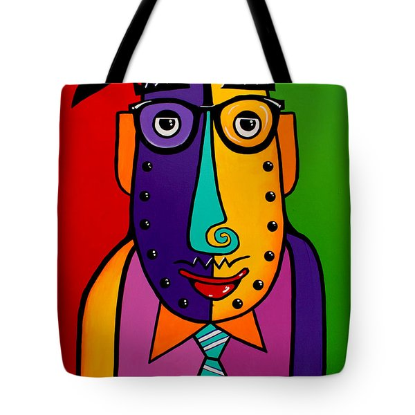 A Corporate Kinda Guy Tote Bag by Tim Ross