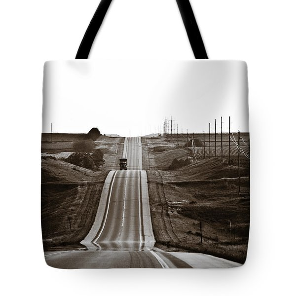 A Country Mile 1 Tote Bag by Marilyn Hunt