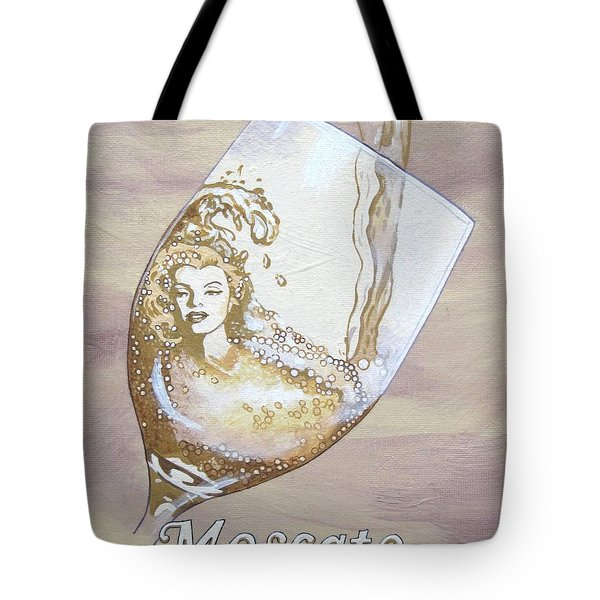 A Day Without Wine - Moscato Tote Bag by Jennifer  Donald