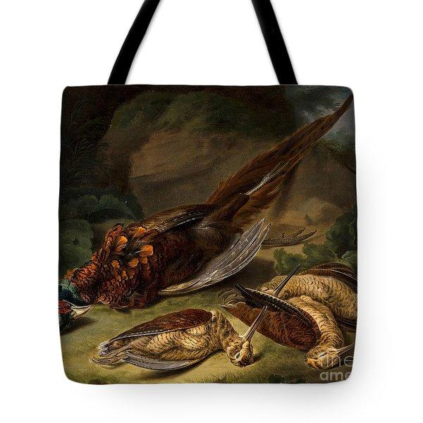 A Dead Pheasant Tote Bag by Stephen Elmer