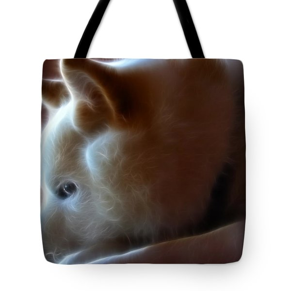 A Dogs Life Tote Bag by Stuart Turnbull