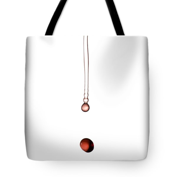 A Drop Of Wine Tote Bag by Frank Tschakert