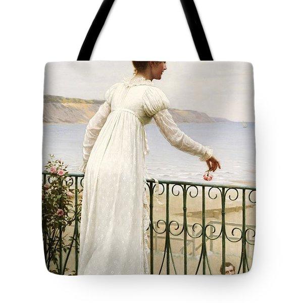A Favour Tote Bag by Edmund Blair Leighton