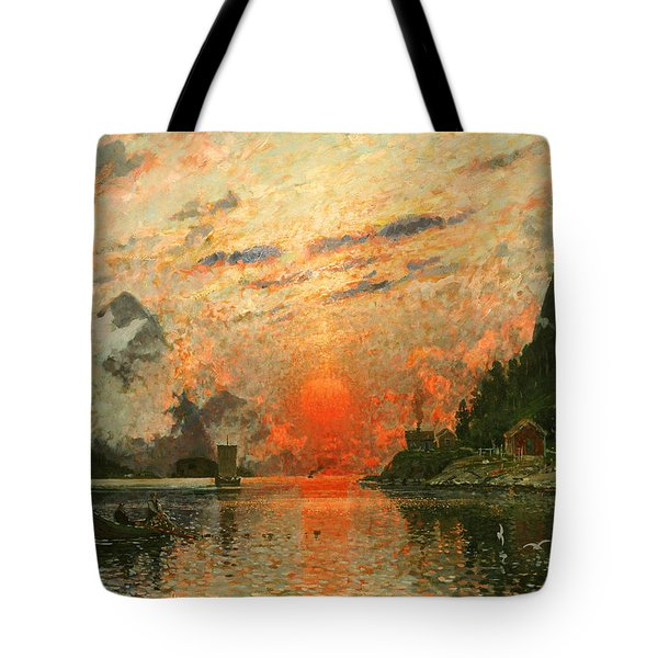 A Fjord Tote Bag by Adelsteen Normann