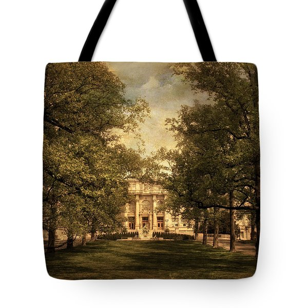 A Formal Passage Tote Bag by Jessica Jenney