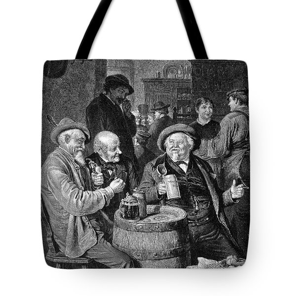 A German Tavern Tote Bag by Granger