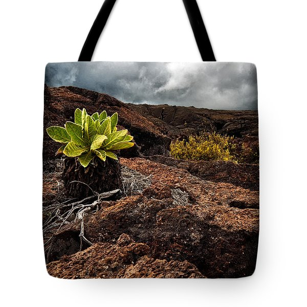A Hard Existence Tote Bag by Christopher Holmes