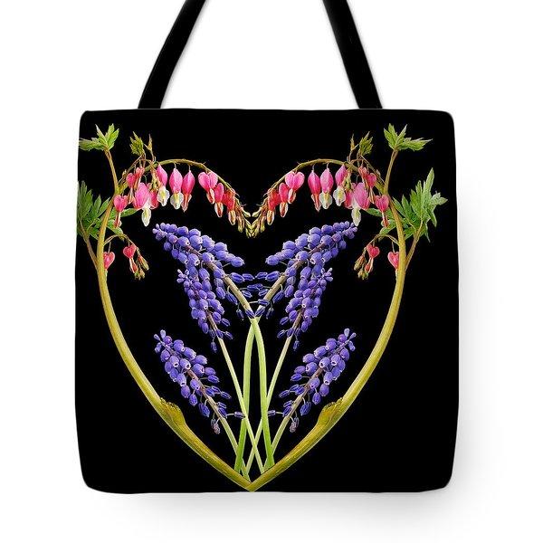A Heart of Hearts Tote Bag by Michael Peychich
