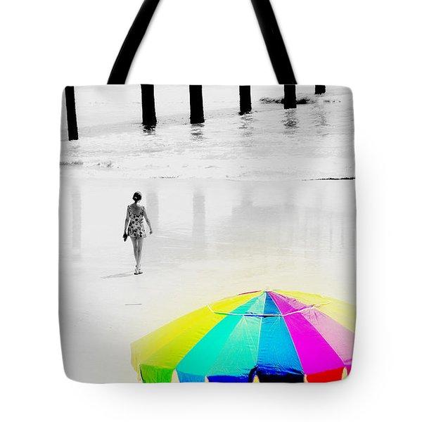 A Hot Summer Day Tote Bag by Susanne Van Hulst
