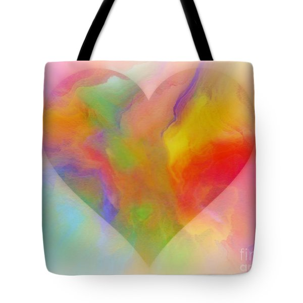 A Moment Of Love Tote Bag by WBK