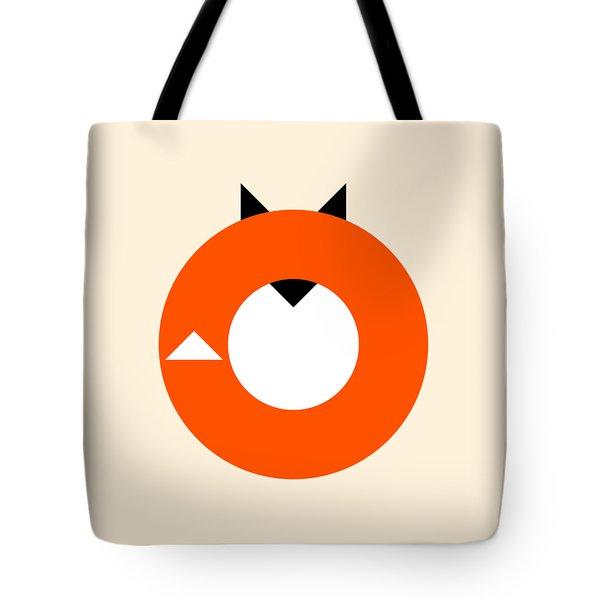 A Most Minimalist Fox Tote Bag by Nicholas Ely