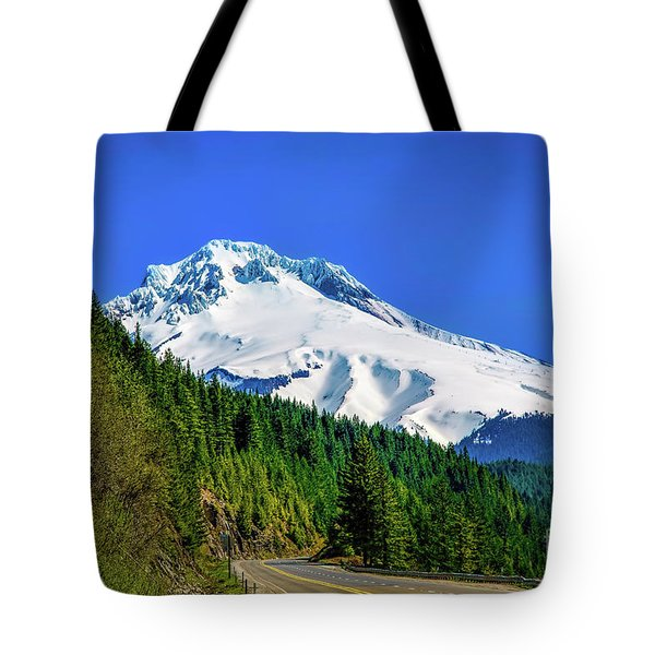 A Mountain Called Hood Tote Bag by Jon Burch Photography