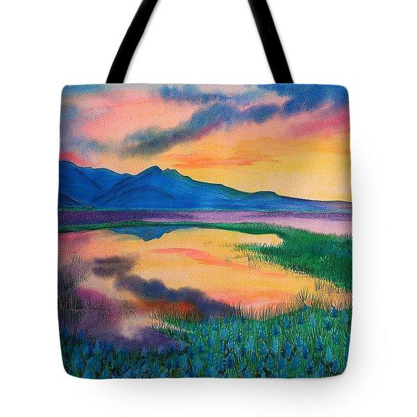 A New Beginning Tote Bag by Ramneek Narang