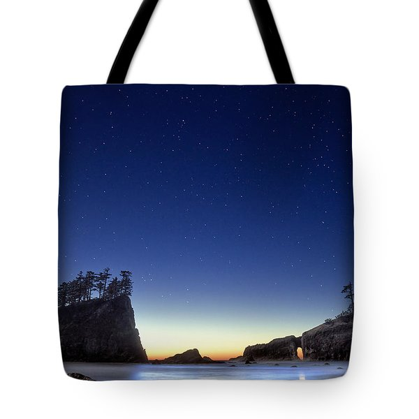 A Night For Stargazing Tote Bag by William Lee