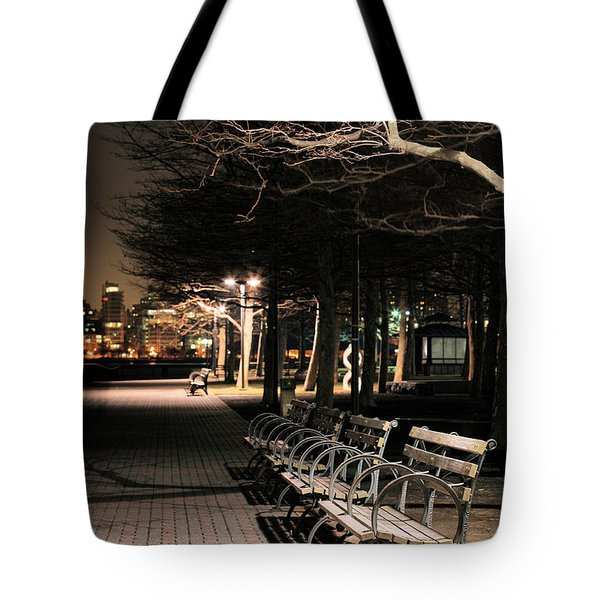 A Night in Hoboken Tote Bag by JC Findley