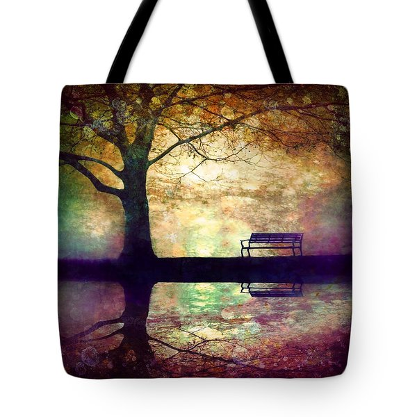 A Place To Rest In The Dark Tote Bag by Tara Turner