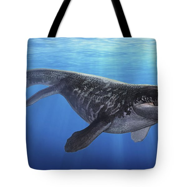 A Prognathodon Saturator Swimming Tote Bag by Sergey Krasovskiy