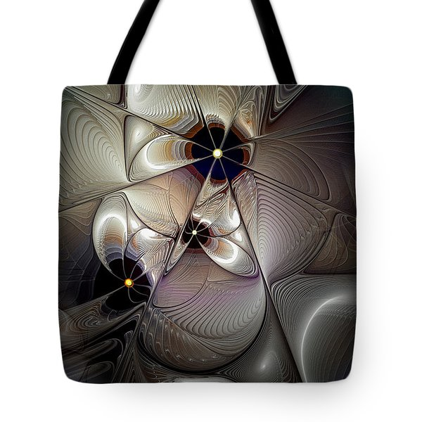 A Question Of Balance Tote Bag by Casey Kotas