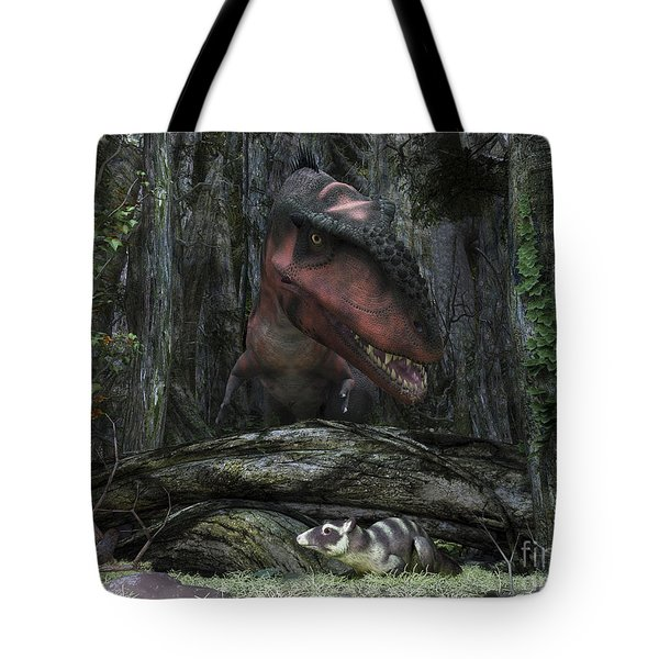A Rat-sized Purgatorius Hides Tote Bag by Walter Myers