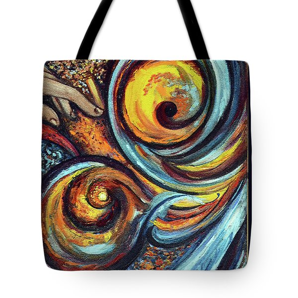 A Ray Of Hope Tote Bag by Harsh Malik