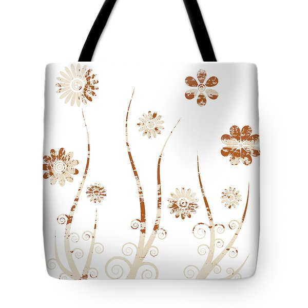 A shabby meadow Tote Bag by Frank Tschakert