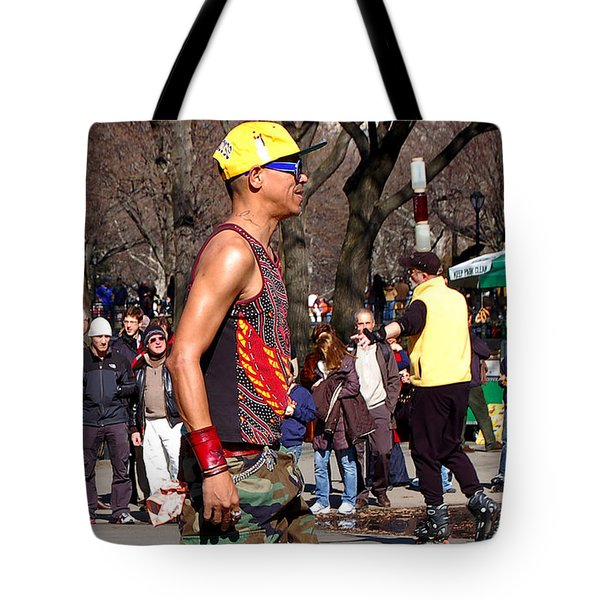 A Skater In Central Park Tote Bag by RicardMN Photography