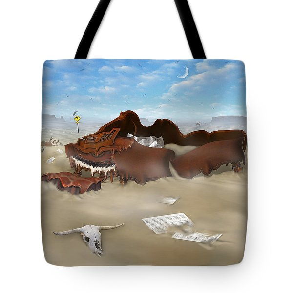 A Slow Death In Piano Valley Sq Tote Bag by Mike McGlothlen