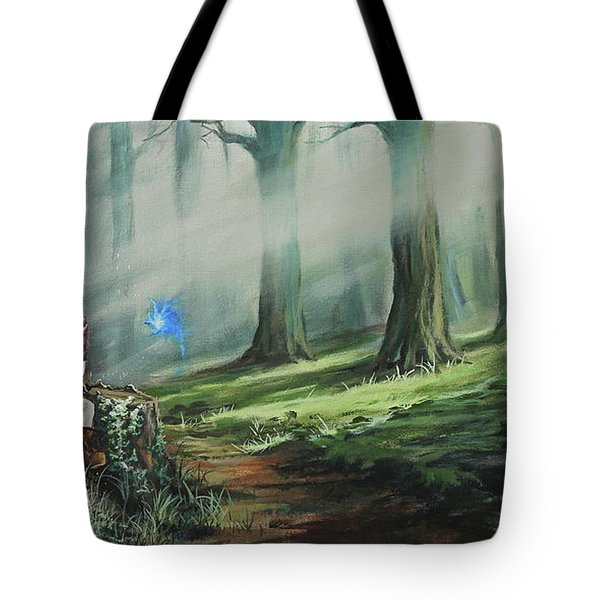 A Song For Navi Tote Bag by Joe Mandrick