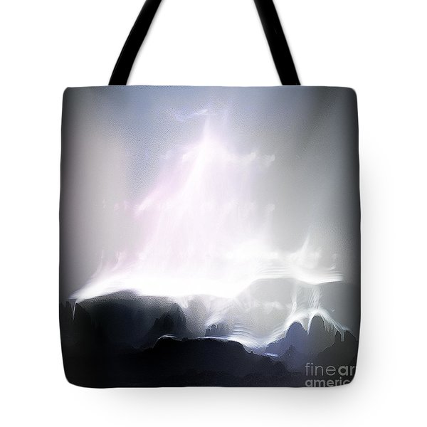 A Stairway To Heaven Tote Bag by Arne Hansen