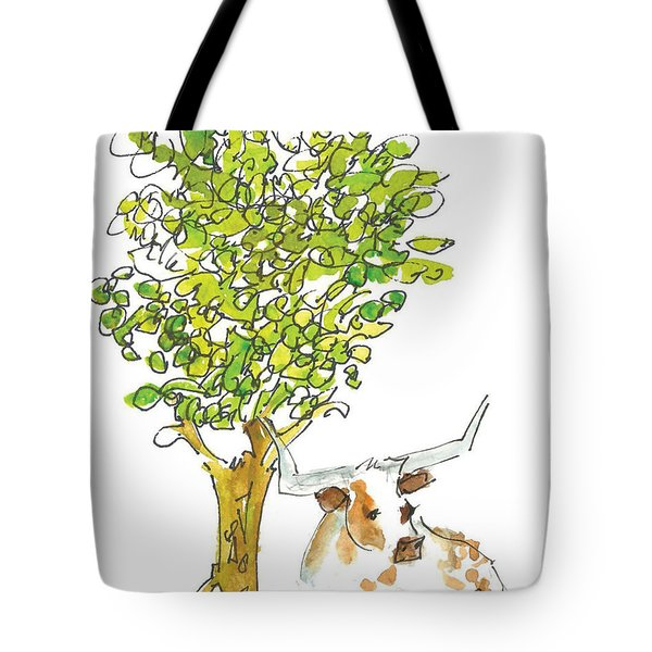 A Texas Welcome Tote Bag by Kathleen McElwaine