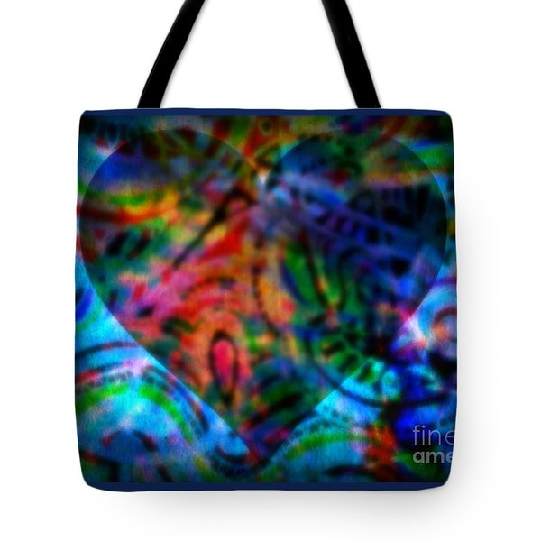 A Total Eclipse Of The Heart Tote Bag by WBK