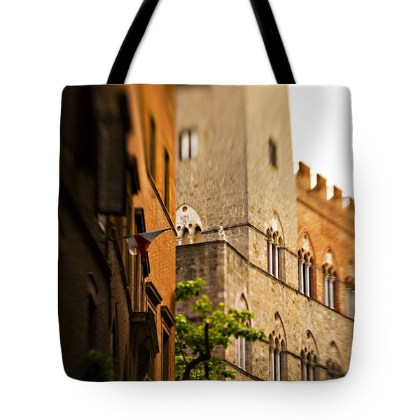 A Tree Grows Tote Bag by Marilyn Hunt