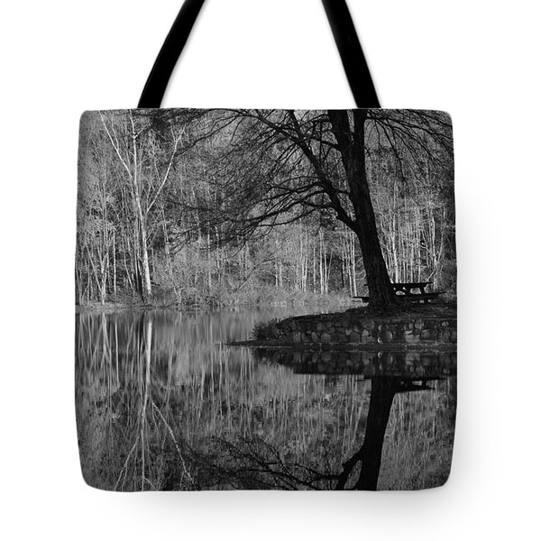 A Tree Of A Different Color Tote Bag by Karol Livote