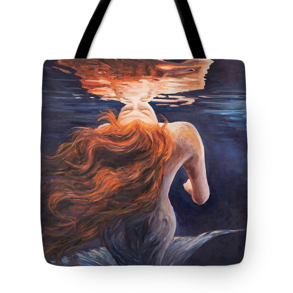 A Trick Of The Light - Love Is Illusion Tote Bag by Marco Busoni