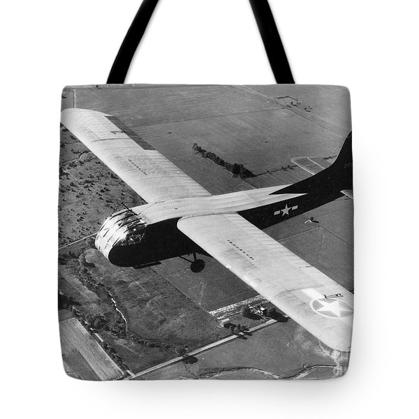 A U.s. Army Air Force Waco Cg-4a Glider Tote Bag by Stocktrek Images