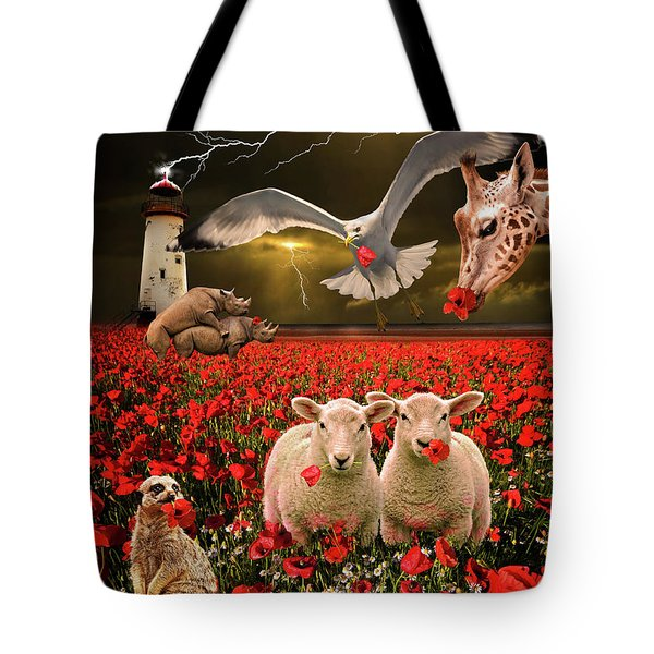 a very strange dream Tote Bag by Meirion Matthias