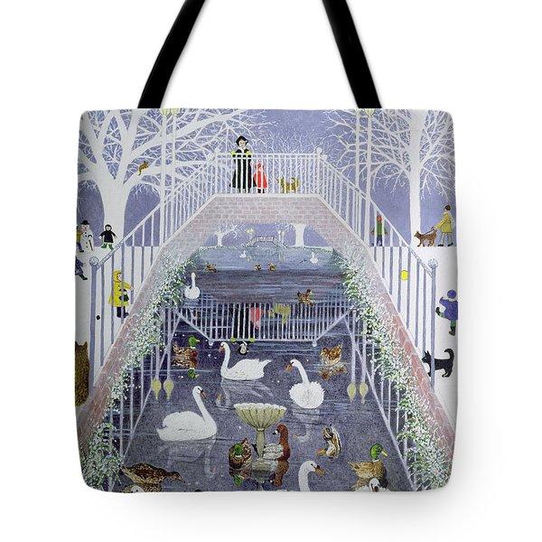 A Walk In The Park Tote Bag by Pat Scott
