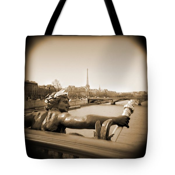 A Walk Through Paris 7 Tote Bag by Mike McGlothlen
