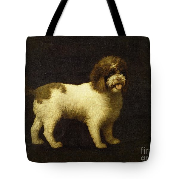 A Water Spaniel Tote Bag by George Stubbs