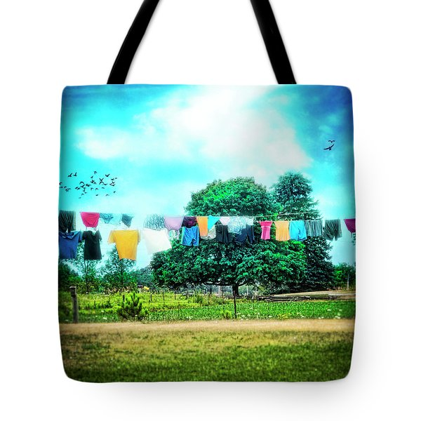 A Woman's Work Is Never Done Tote Bag by Tammy Wetzel