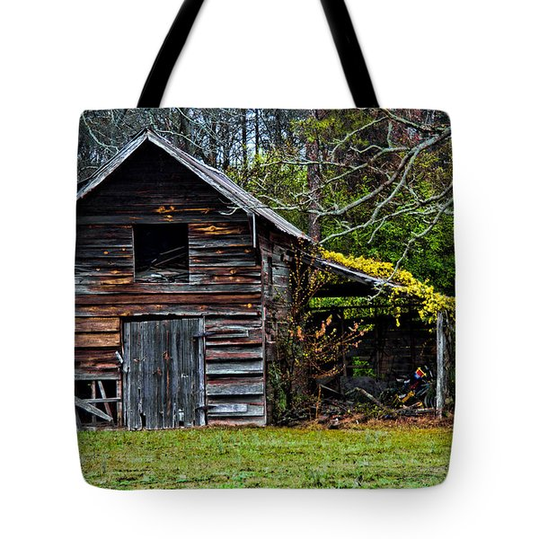 A Yellow Cover Tote Bag by Christopher Holmes
