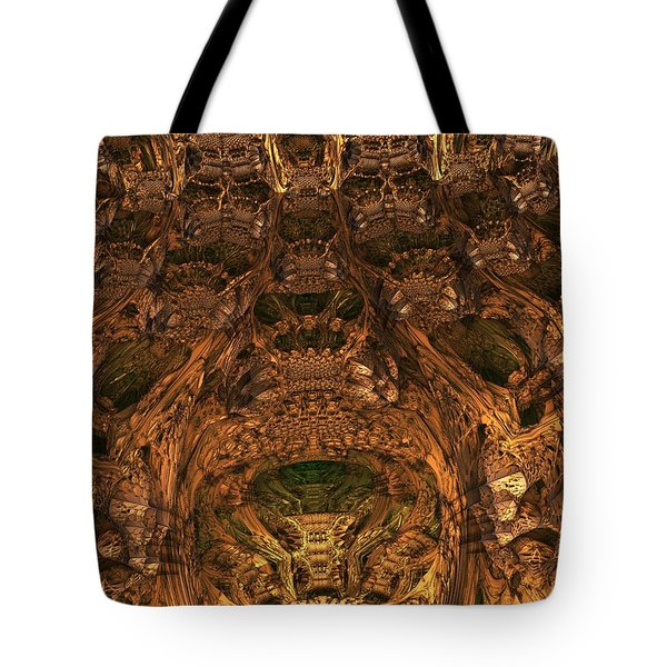 Abandon All Hope Ye Who Enter Here Tote Bag by Lyle Hatch